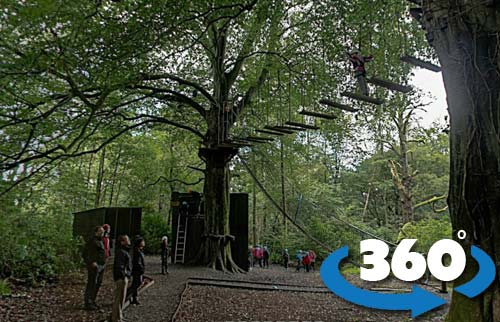 high ropes course 360