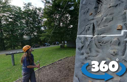 abseiling 360