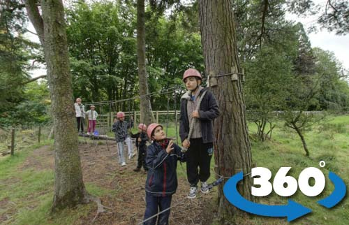 low ropes 360